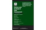Human & Ecological Risk Assessment