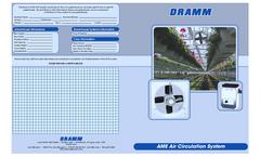 Dramm - 350mm AME - Horizontal Air Flow (HAF) Fan Brochure