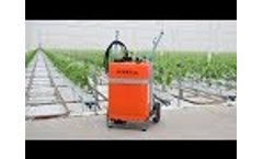 Empas 60 liter spray trolley Video
