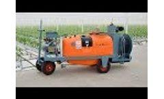 Empas Georgia spray trolley Video