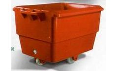 Technosea - Insulated Containers with Lids and Wheels