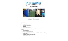 NoiseAir - Acoustic Blankets & Curtains for Noise Control Brochure
