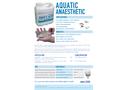 AQUI-S - Model 20E - Water Dispersible Liquid Anaesthetic for Finfish