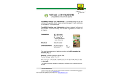 TerraBRILL - Organic Vegetable and Herb Substrate - Datasheet