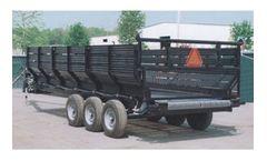 Inland - Aquatic Weed Harvesting Trailer Conveyor