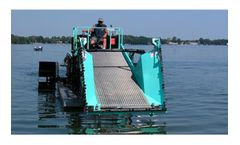 Inland - Model ILH6-300 - Diesel Powered Aquatic Weed Harvester