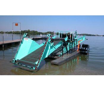 Diesel Powered Aquatic Weed Harvester-1