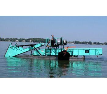 Diesel Powered Aquatic Weed Harvester-2