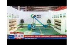 Small Cheap Diesel Pellet Mill for individual uses and farm users - Video