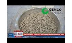 Make your own pellets with small electric pellet machine - ZLSP R-type - Video