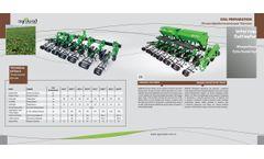 Agrolead - Interrow Cultivator - Datasheet