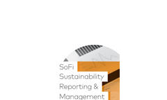 SoFi Sustainability Reporting & Management Suite - Brochure