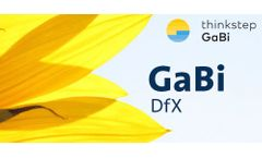 GaBi DfX - Direct BOM Import into LCA Software