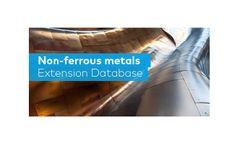 GaBi - Non-Ferrous Metals - LCA Database