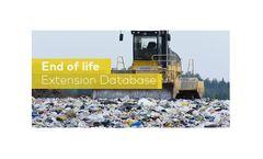 GaBi - End of Life - LCA Database