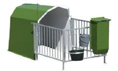 C.T.S. - Model CL - Shelter for 1 Calf