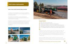 Fieldquip - Model 10,000 Litre - Hydroseeder Landcover-Tanker Brochure