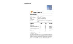 TEMPA - Model 3049 D - Climate Screen - Datasheet