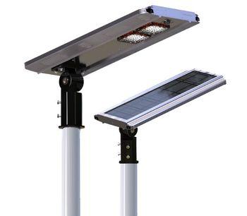 EShine - Model ELS-16C - 20w Integrated Solar Street LED Light