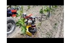 Weeding Machine for Grapes Vineyards - Video