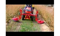Weed Spray Boom for Blueberries TOLA - Video