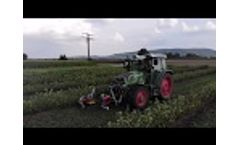 Weed control machine for organic farming