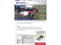 Catalog of Auto weeding machine for Orchards ZANA