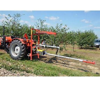 Hydraulic Tree Trunk Shaker Fruit Harvester-4