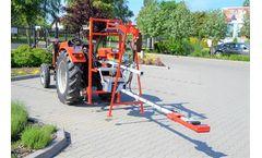 PESTKA - Hydraulic Tree Trunk Shaker Fruit Harvester