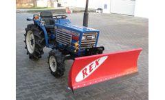 REX - Snow Plow Machine