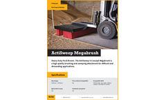 ActiSweep - V-Concept Mega Brush Sweepers  Brochure