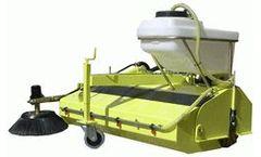 MDB - Model SPZ-U-150 - Hydraulic Sweepers