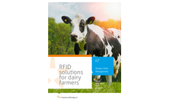 RFID solutions for Dairy Farmers Brochure