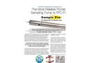 Sample Pro 1.75 Inch Sampling Pump Datasheet