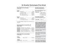 En Novative Technologies Price Schedule