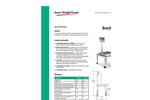 Model BS - Cart Bench Scale Specifications Brochure