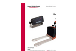 Avery Weigh-Tronix - Electric Walkie Scale Kit Technical Specifications