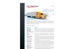 Model BMS HD - Heavy Duty Steel Truck Scale Brochure