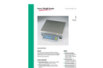 Model 3600SC - High Resolution Digital Bench Scale Brochure