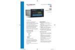 Model 1080 - Compact Panel Mount Weight Indicator Brochure