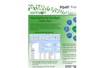 EarthSoft EQuIS Professional Data Sheet 2013