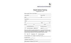 Online Training Registration Form