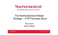 Northumberland County Council`s waste strategy Presentations Brochure (PDF 1.47 MB)