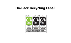 Everything you need to know about the on-pack recycling label Presentations Brochure (PDF 490 KB)