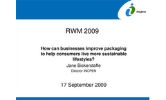 How can businesses improve packaging to heklp consumers live Presentations Brochure (PDF 2.12 MB)