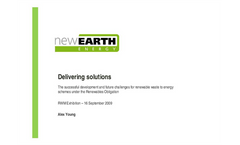 Successful application and challenges of the renewable obligation Presentations Brochure (PDF 1.68 MB)