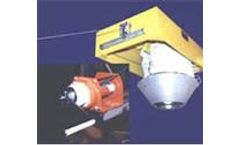 Hand Crank - Model T - Manually Operated Bulk Material Loading Spout