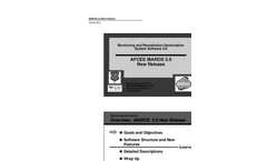 Monitoring and Remediation Optimization System (MAROS) Brochure