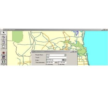 StreetManager - Vehicle Analysis and Route Planning Program Software