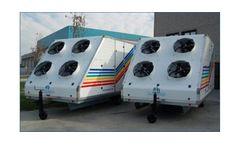 Tecnograin Carlini - Model 30-70 - Trailer Mounted Cooling System